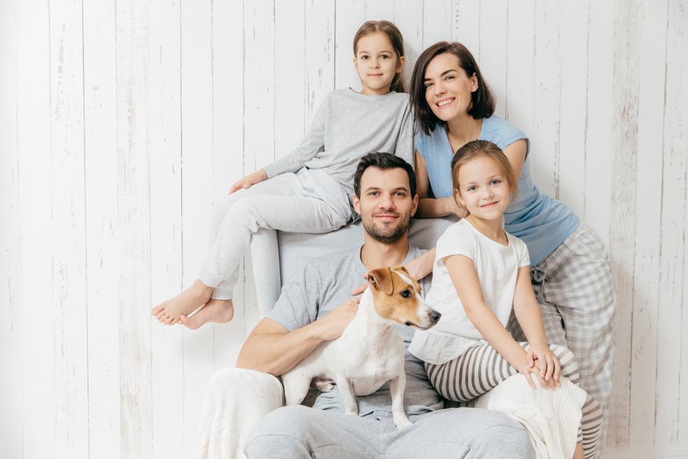 Portrait photo famille réussi